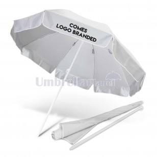 Basic Logo Branded Beach Umbrellas