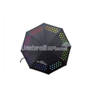 Colour Change Umbrellas With Logo