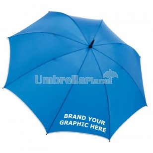 Custom Printed Strong Fibreglass Umbrellas