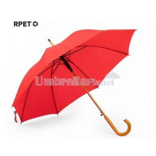 Logo Printed Umbrella Eco Friendly RPET
