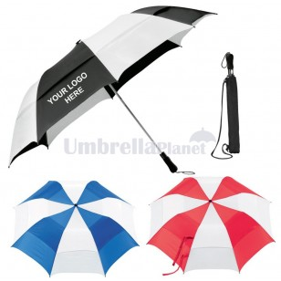 Radford Logo Emblazoned Folding Umbrella