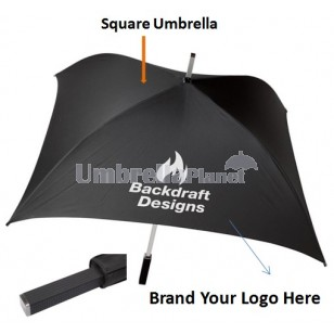 Square Custom Printed Umbrellas
