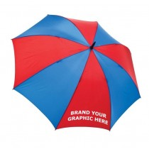 Brescia Logo Branded Sports Umbrella