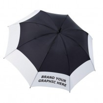 Catania Dual Colour Promotional Umbrellas