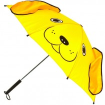 Yellow Puppy Dog Umbrellas for Kids