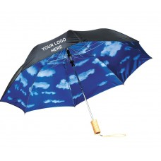 Sky Scene Promotional Umbrellas Folded